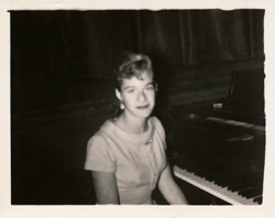 Carole King in high school