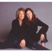 Carole King and Louise Goffin,  Los Angeles, CA  1999. Photo by Robert Sebree