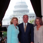 With Carolyn Maloney (D-NY)and Chairman of the Natural Resources Committee Nick Rahall (D-WV) - 2008