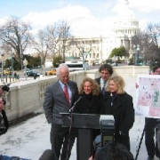 With Christopher Shays (R-CT), Carolyn Maloney (D-NY) and Ric Bailey (with Hells Canyon Preservation Council).  2005
