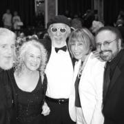 Gerry Goffin, Carole King, Lou Adler, Cynthia Weil, Barry Mann - BMI Awards.  Photo by Elissa Kline