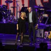 Carole King & James Taylor. Boston Strong. Photo by Elissa Kline