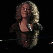 Carole feeling the joy... Troubadour 2007. Photo by Elissa Kline