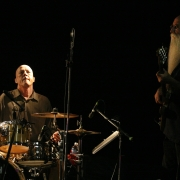 Russ Kunkel and Lee Sklar holding it down - Troubadour 2007. Photo by Elissa Kline