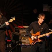 Lee Sklar and Danny Kortchmar rockin' the Troubadour in 2007. Photo by Elissa Kline