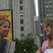 Katie Couric interviews Carole - The Today Show 7-15-05. Photo by Elissa Kline