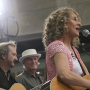 Gary Burr, Rudy Guess & Carole King rock the Today Show. Photo by Elissa Kline