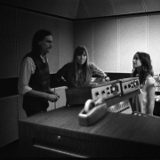 """James Taylor, Joni Mitchell, Carole King. """"Tapestry"""" sessions. Photo by Jim McCrary"""