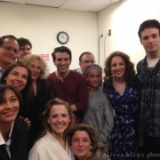 Backstage post-show. Photo by Elissa Kline