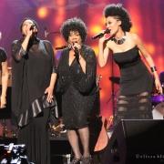 """""""Way Over Yonder"""" Darlene Love, Lisa Fischer, Merry Clayton & Judith Hill (20 Ft. From Stardom). Photo by Elissa Kline"""