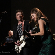 """Goin' Back"" Jakob Dylan & Louise Goffin. Photo by Elissa Kline"