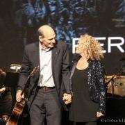 James Taylor & Carole King. Photo By Elissa Kline