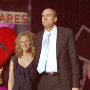 Carole King and James Taylor.  Photo by Wire Image
