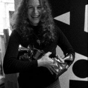 Carole and Grammy Awards. Photo by Jim McCrary from the collection of Lou Adler