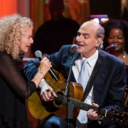"Carole King and James Taylor perform together during a concert honoring King in the East Room of the White House, May 22, 2013. President Barack Obama presented King with the 2013 Library of Congress Gershwin Prize for Popular Song.   ""Carole King: The Library of Congress Gershwin Prize In Performance at the White House""  can be seen at pbs.org. Photo credit: White House Photo by David"