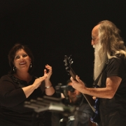 Kansas City - Andrea Zonn, Leland Sklar, Robbie Kondor. Photo by Elissa Kline