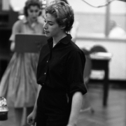 Carole at work,  RCA Studio in New York City 1959. Photos Courtesy of Sony Music Entertainment Archive