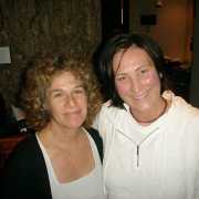 with k.d. Lang. Photo by Rudy Guess