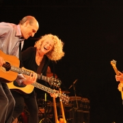 "Mohegan Sun, Ct. - James Taylor, Carole King, Danny ""Kootch"" Kortchmar  rockin' the house! Photo by Elissa Kline"