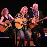 Carole King, Gary Burr & Rudy Guess rocking Seattle. Photo by Elissa Kline