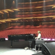 Sound Check, Adelaide, Australia. Photo by Elissa Kline