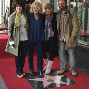 with Carol Bayer Sager, Cynthia Weil & Barry Mann. Photo by Elissa Kline