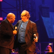 Co-hosts Quincy Jones & Jack Nicholson.  Photo by Elissa Kline
