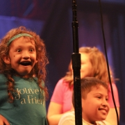 "Painted Turtle Campers, ""You've Got A Friend"" finale.  Photo by Elissa Kline"