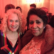 The King & the Queen, Carole King & Aretha Franklin  Photo by Sherry Goffin Kondor